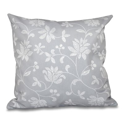 Grovetown Traditional Throw Pillow Size: 20 H x 20 W, Color: Gray