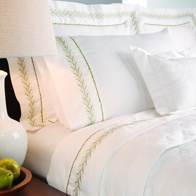 Annabelle 400 Thread Count Embroidered Sheet Set Size: Queen