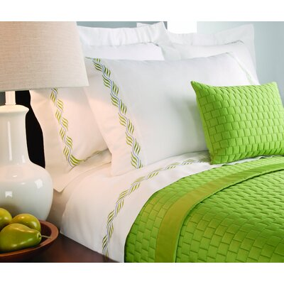 Isleboro Quilted Coverlet Size: Queen, Color: Cotton Ball