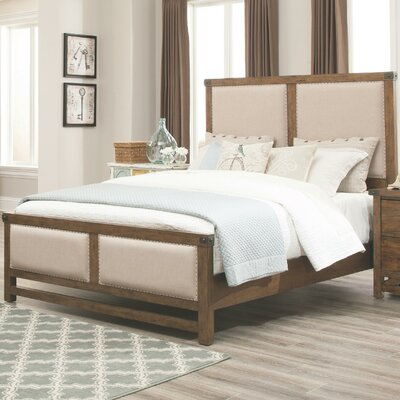 Lake Park Upholstered Panel Bed Size: Queen