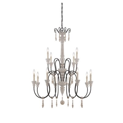 Camille 12-Light Candle-Style Chandelier