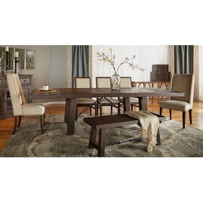 Montcerf Extendable Dining Table Finish: Rustic Java