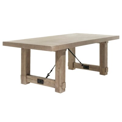 Parfondeval Extendable Dining Table Finish: Stone Wash