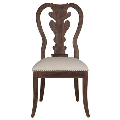 Parfondeval Wood Side Chair (Set of 2) Finish: Rustic Java
