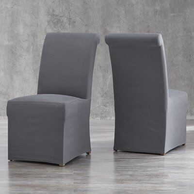 Lefebre Parson Chair Upholstery: Gray