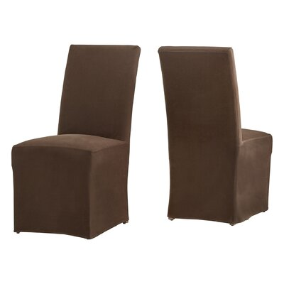 Lefebre Parson Chair Upholstery: Brown