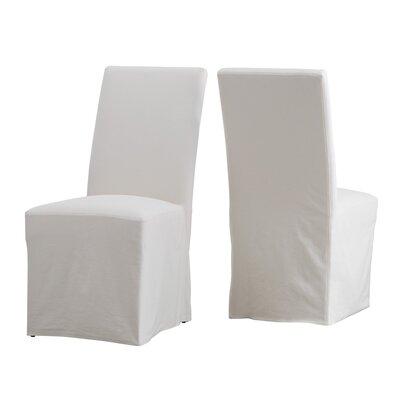 Lefebre Parson Chair Upholstery: Eggshell/Ivory
