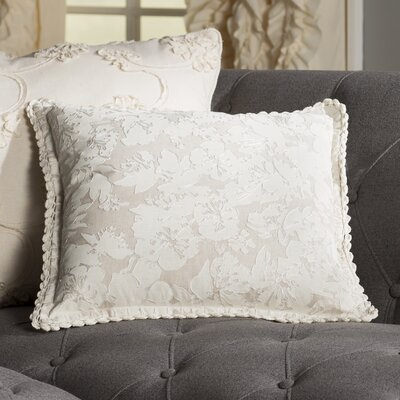 Olga Throw Pillow Size: 18 H x 18 W x 4 D, Color: Neutral