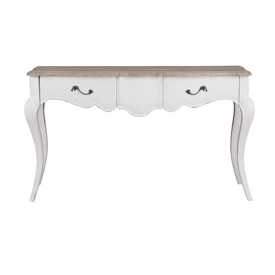 Lheureux Console Table Finish: White