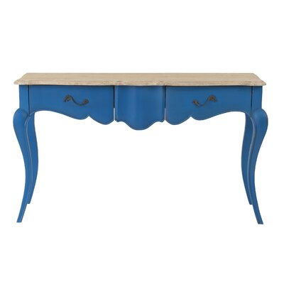 Lheureux Console Table Finish: Blue