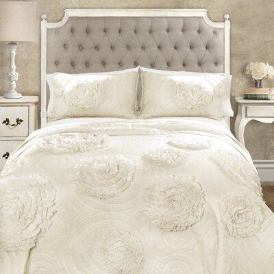 Lazerte 3 Piece Quilt Set Size: King