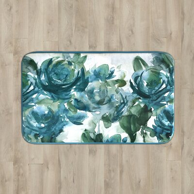 Parma Floral Kitchen Mat Rug Size: 2 x 3