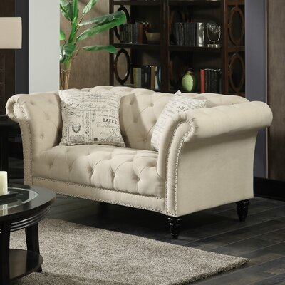 Narcisse Chesterfield Loveseat