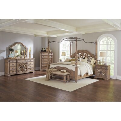 George Canopy Configurable Bedroom Set
