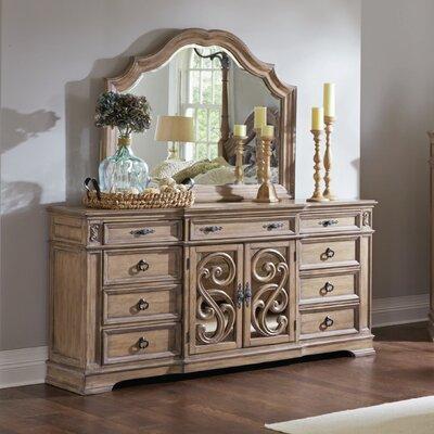 George 9 Drawer Dresser with Mirror