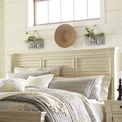 Alsace Panel Wood Headboard Size: Queen