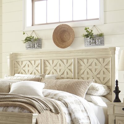 Alsace Panel Headboard Size: King