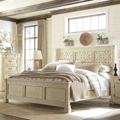Alsace Traditional Panel Bed