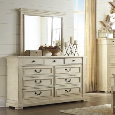 Alsace 9 Drawer Dresser with Mirror