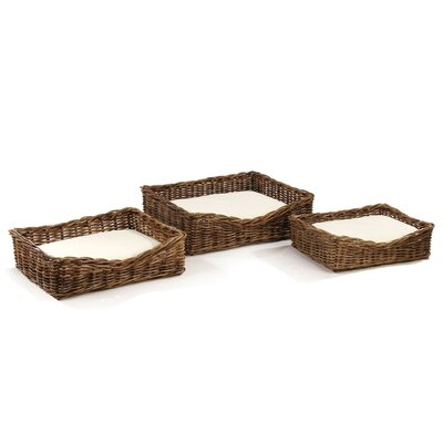 Morrissette 3 Piece Dog Cot Set