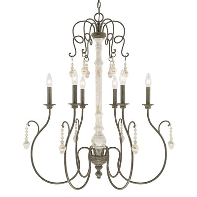 Baine 6-Light Candle-Style Chandelier
