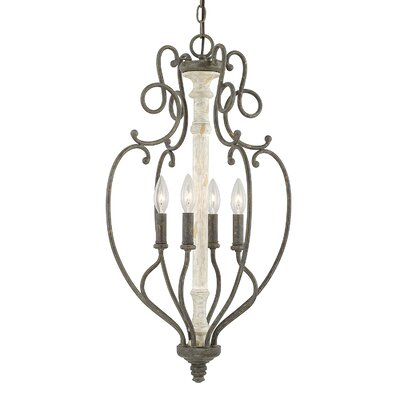 Baine 4-Light Foyer Pendant