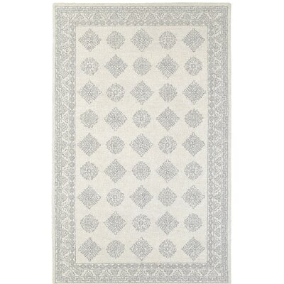 Reveles Hand-Tufted Gray/Beige Area Rug Rug Size: Rectangle 8 x 10