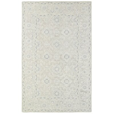 Reveles Hand-Tufted Oriental Beige/Gray Area Rug Rug Size: Rectangle 8 x 10