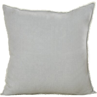 Hardage Linen Throw Pillow Color: Blue/Gray