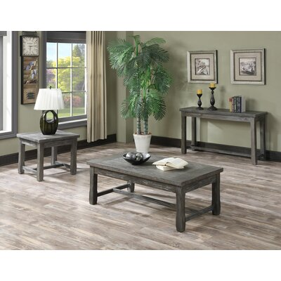 Motsinger Rectangle Coffee Table Set