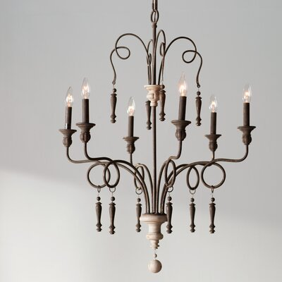 Big Piney 6-Light Candle-Style Chandelier