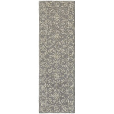 Toussaint Hand-Tufted Gray Area Rug Rug Size: Runner 25 x 8