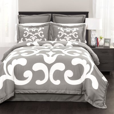 Gavarnie 6 Piece Comforter Set Size: Queen