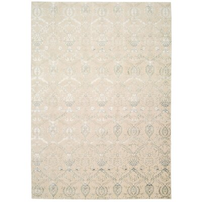 Bourgault Cream Rug Rug Size: Rectangle 35 x 55