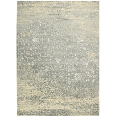 Bourgault Silver Area Rug Rug Size: Rectangle 76 x 106