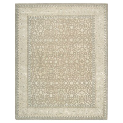 Deslauriers Hand-Tufted Latte Area Rug Rug Size: 56 x 75