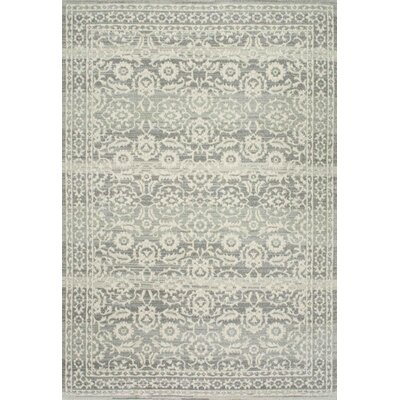 Valois Gray Area Rug Rug Size: Rectangle 9 x 12
