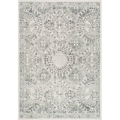 London Gray Area Rug Rug Size: 9 x 12