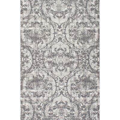 Leamington Hand-Woven Charcoal Area Rug Rug Size: 76 x 96