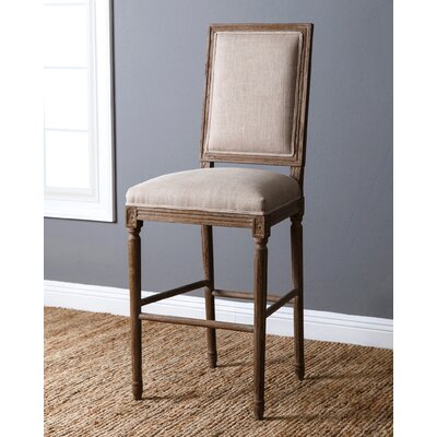 Bauman 30 Bar Stool with Cushion