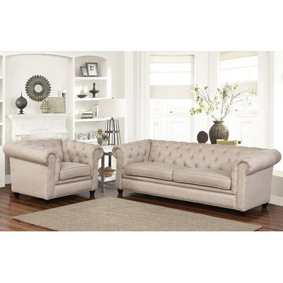 Breaux Sofa and Armchair Set