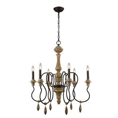 Chambord 6-Light Candle-Style Chandelier