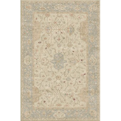 Loire Sea Foam Area Rug Rug Size: 4 x 6
