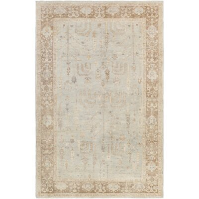 Loire Light Gray Area Rug Rug Size: Rectangle 2 x 3
