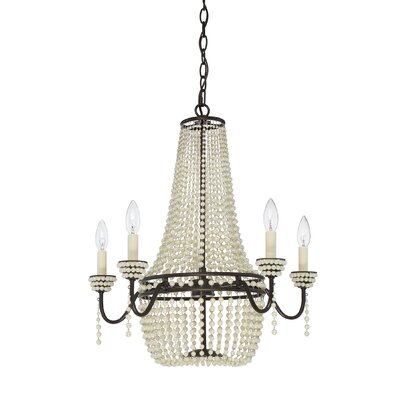 Rochelle 5-Light Candle-Style Chandelier