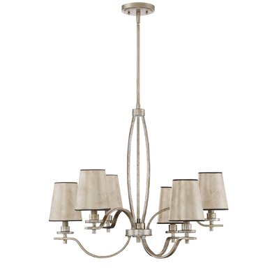 Chateau 6-Light Shaded Chandelier