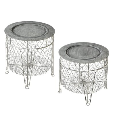 Pyrenees 2 Piece End Table Set