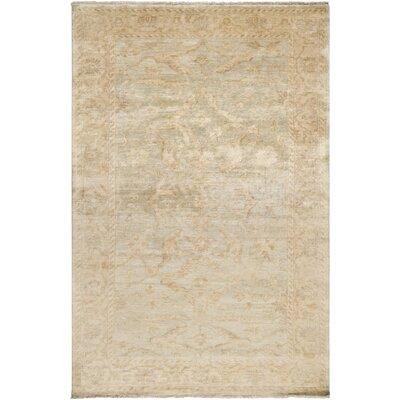 Talence Grey/Ivory Oriental Area Rug Rug Size: Rectangle 36 x 56