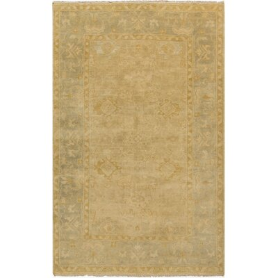 Talence Tan Oriental Area Rug Rug Size: Rectangle 56 x 86