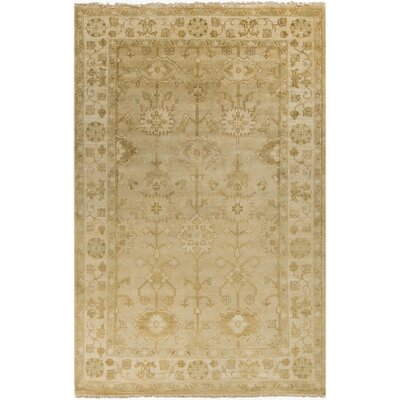 Kangley Traditional Beige Area Rug Rug Size: 56 x 86